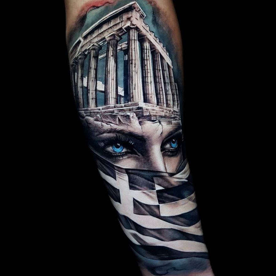 morph tattoo
