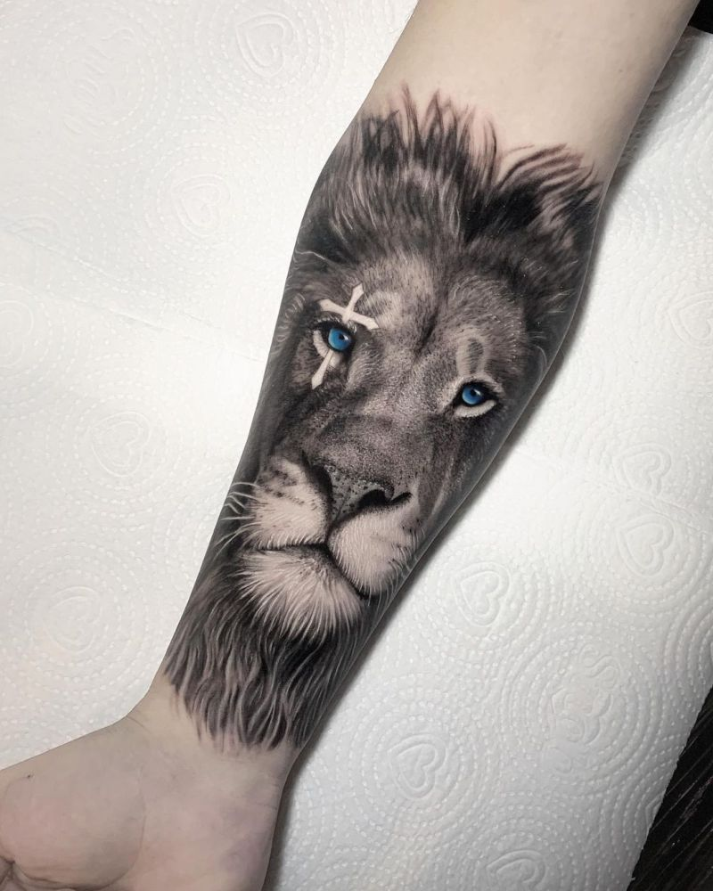 best lion tattoos