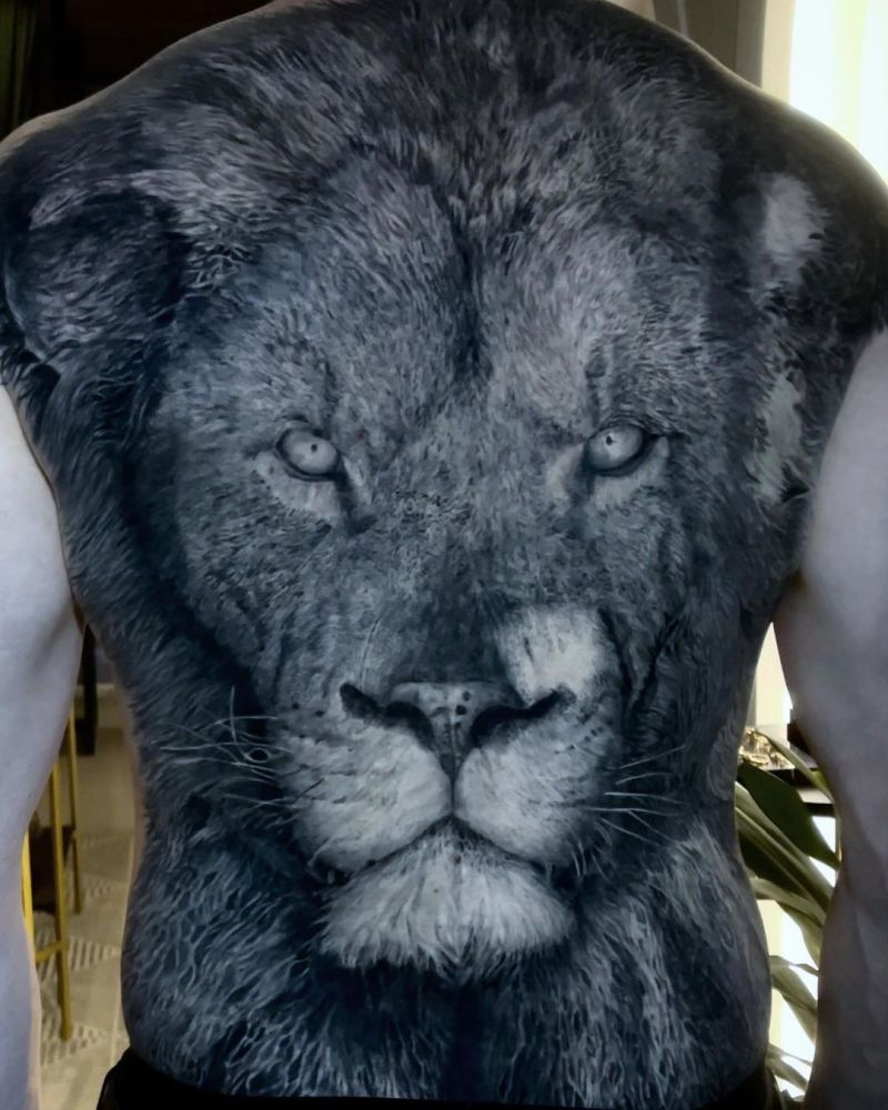 cool lion tattoo ideas