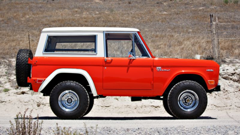 Restored 1969 Ford Bronco Hunter