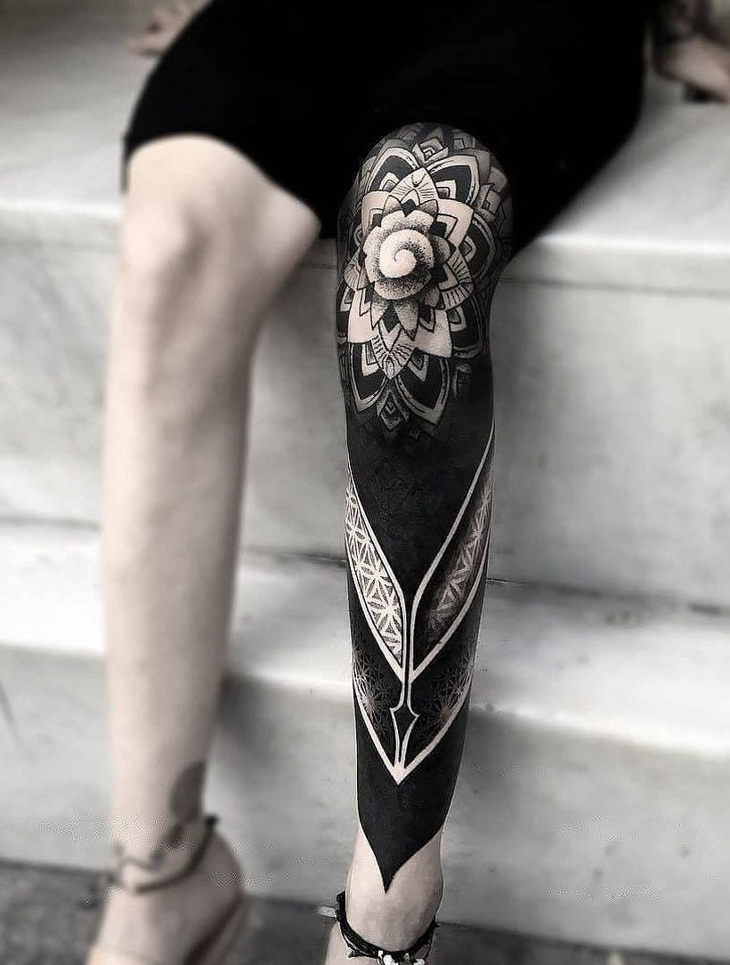 Crazy Solid Black Tattoo Ideas 2 Kickass Things