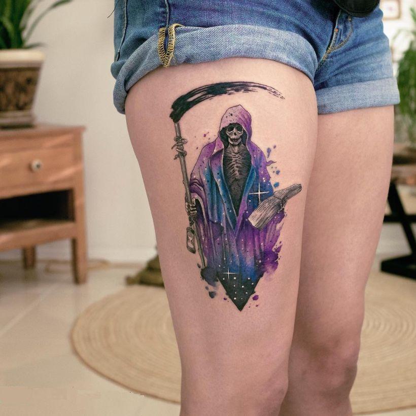Grim Reaper Tattoo Koray Karagözler