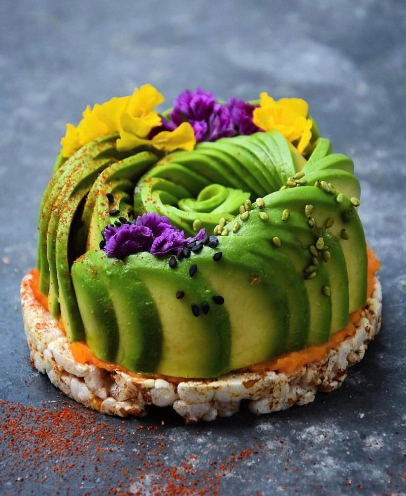 Avocado Breakfast Cake