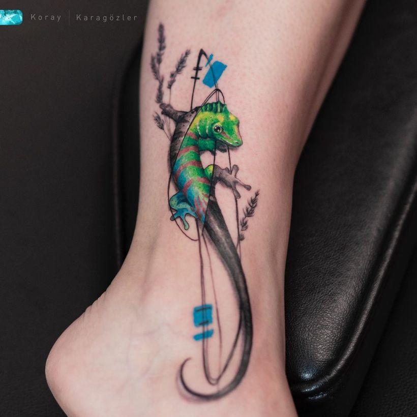 watercolor tattoo ideas best watercolor tattoos Koray Karagözler