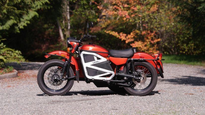 Ural electric bike