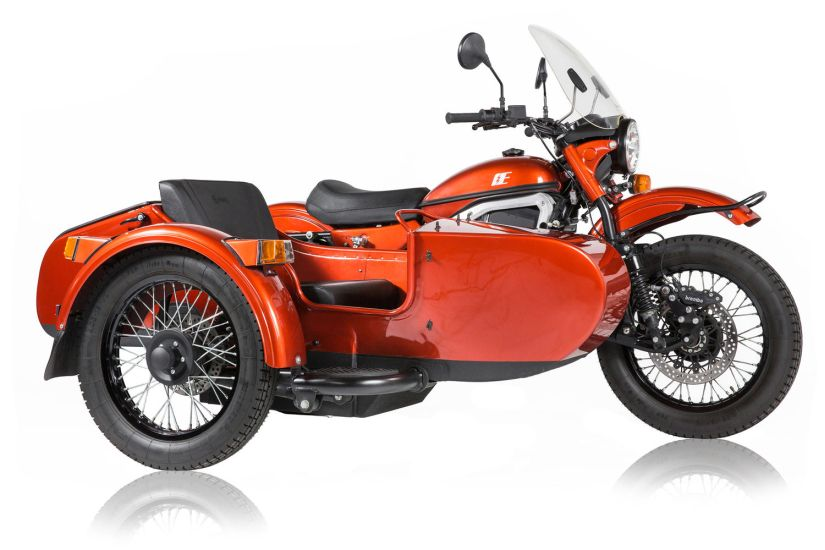 Ural electric bike