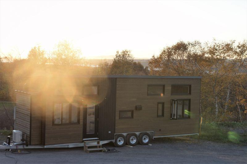beautiful tiny home on wheels