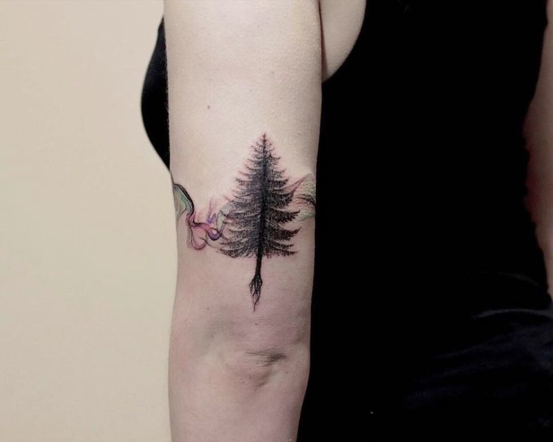 creative tree tattoos