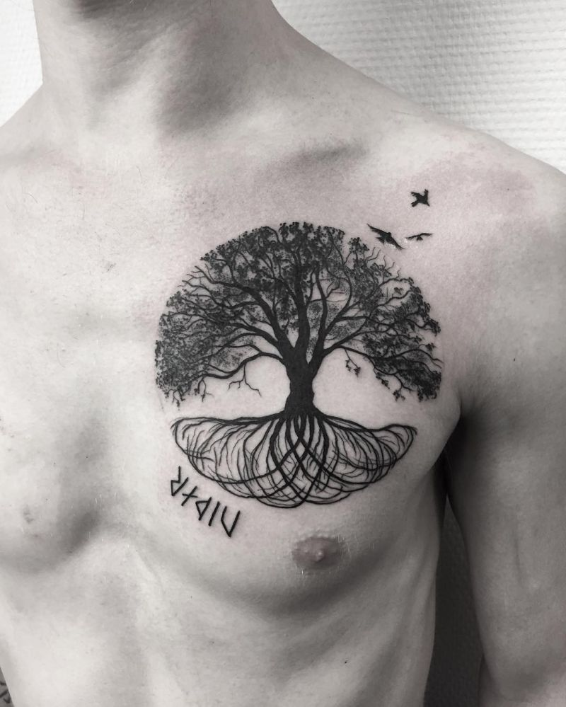 Tree Of Life Tattoo: 50 Gorgeous And Meaningful Tree Tattoos Inspired By Nature