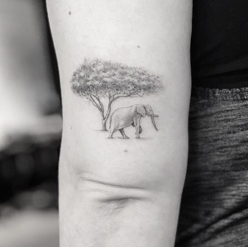creative tree tattoos