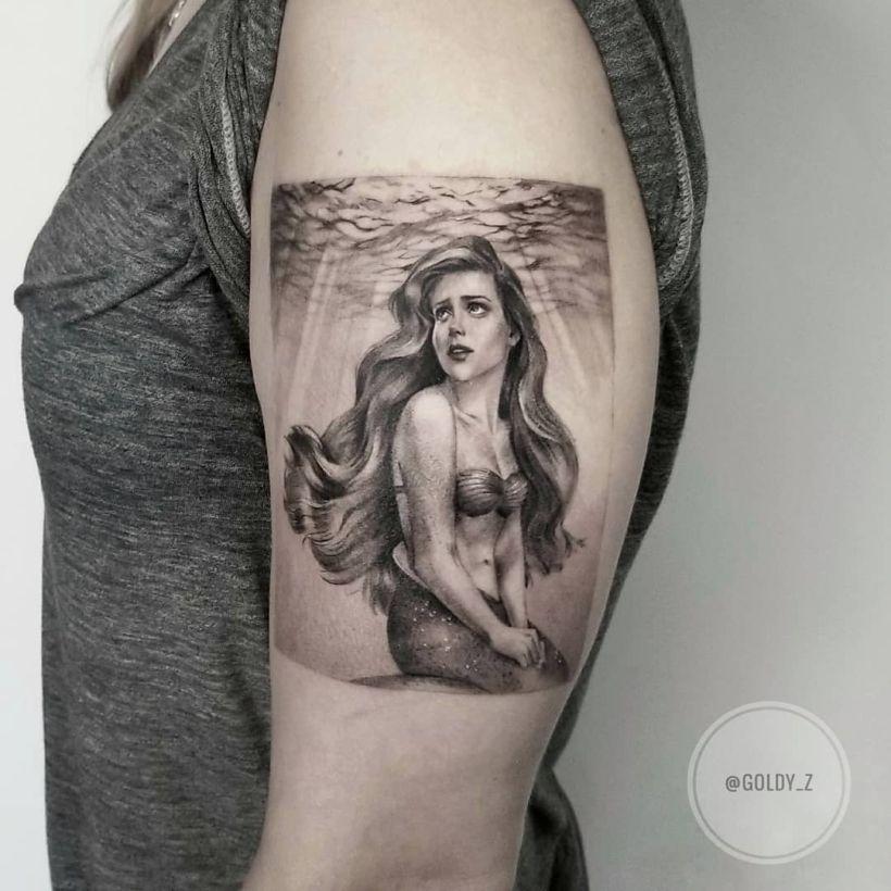 tattoo by Zlata Kolomoyskaya