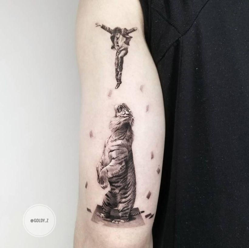 tattoo by Zlata Kolomaskaya