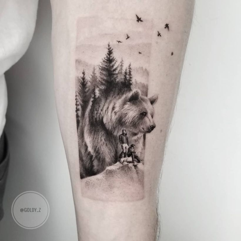 tattoo for hiking lovers