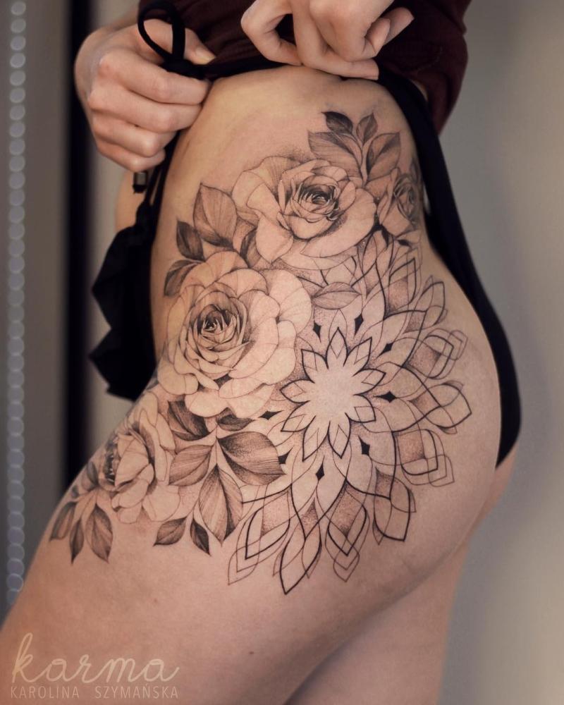 best hip tattoo ideas