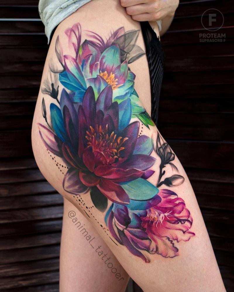 lotus ink piece