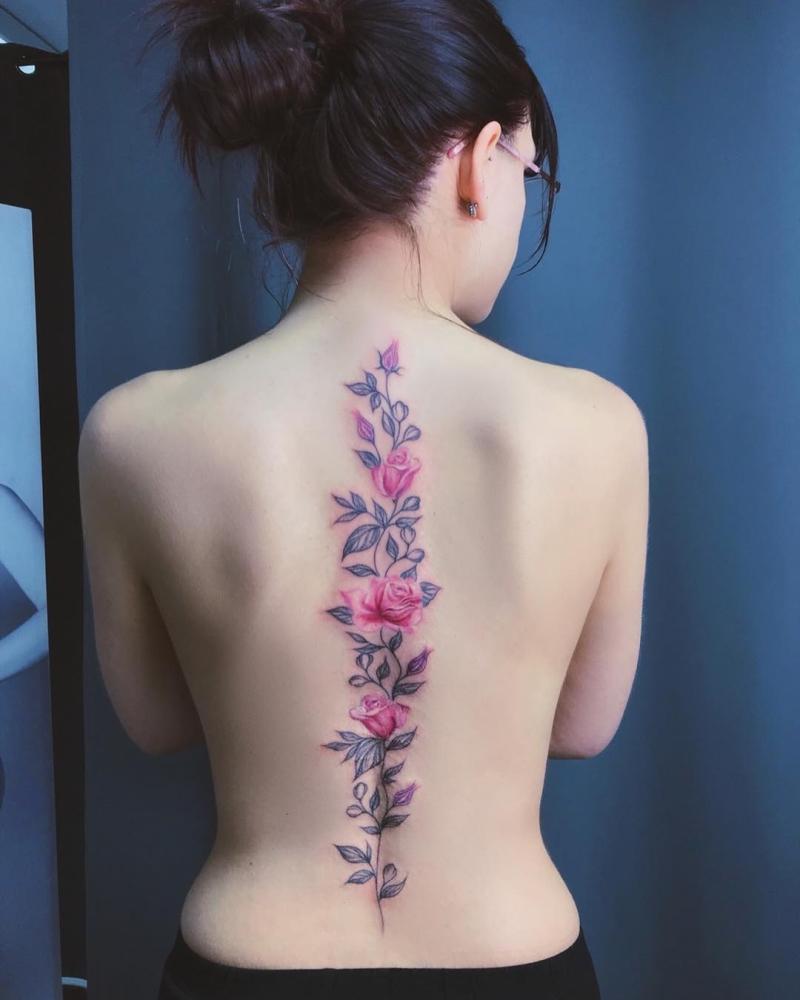 spine tattoo ideas
