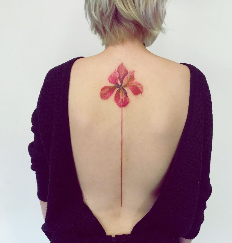 floral ink pieces for girls